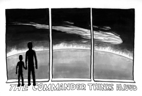 "The Long Winters ""The Commander Thinks Aloud"""