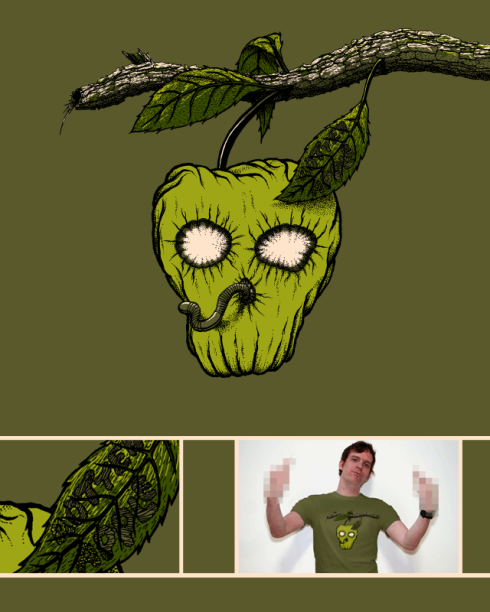 Rotten Apple at Threadless